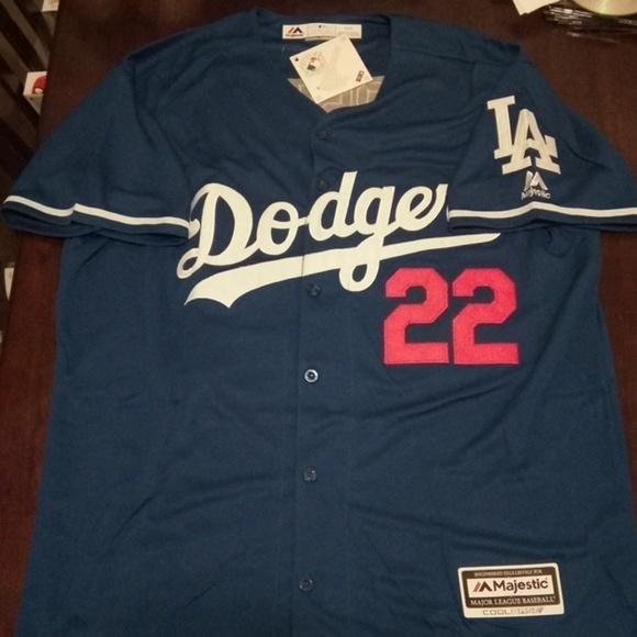 best sneakers 71269 d8667 Los Angeles Dodgers Clayton Kershaw Jersey